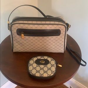 Authentic Gucci crossbody blues